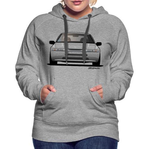 subaru_svx_sticker_clear - Women's Premium Hoodie