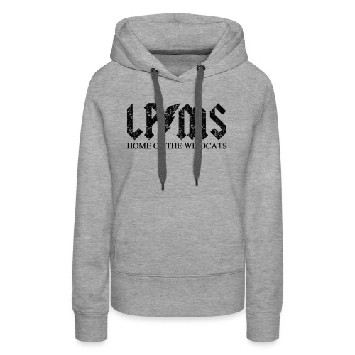 LPMS Voltage Distressed - Women's Premium Hoodie