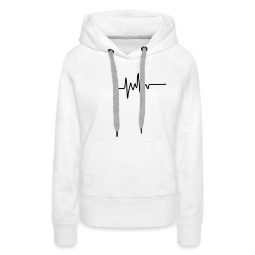 Heartbeat - Women's Premium Hoodie