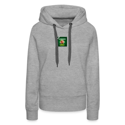 American Football ball - Women's Premium Hoodie