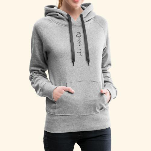 Downwards ghost - Women's Premium Hoodie