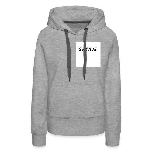 SVRV!VE - Women's Premium Hoodie