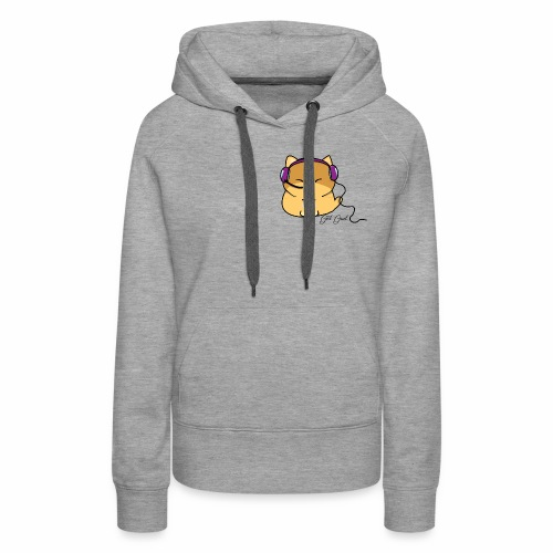 Getgud Gamer Kitty Mug - Women's Premium Hoodie