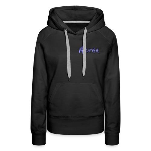 Alpha Black - Women's Premium Hoodie