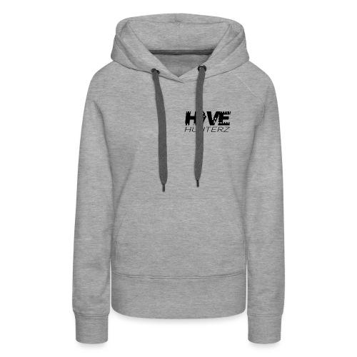 Hive Hunterz Black Logo - Women's Premium Hoodie