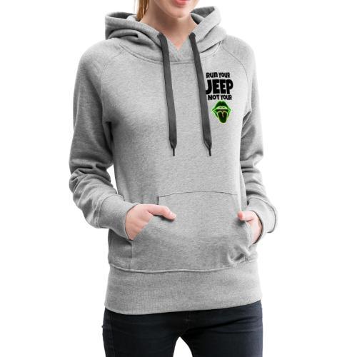 Run Lime - Women's Premium Hoodie