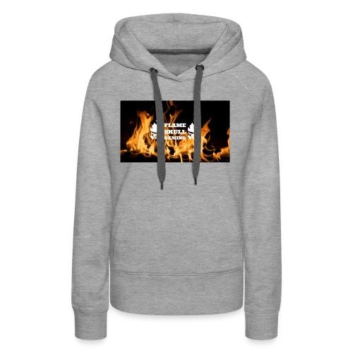 Flame Skulls Merchandise 2018- 2019 - Women's Premium Hoodie