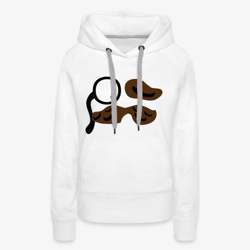 mustachio - Women's Premium Hoodie