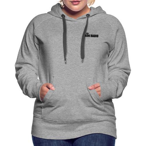 Axon Radio   Midnight label apparel - Women's Premium Hoodie