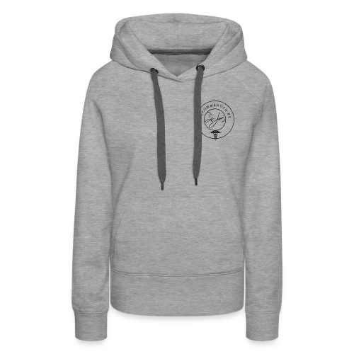 DR JOIS ICON png - Women's Premium Hoodie