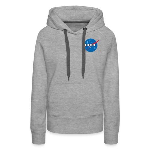 Hope (Nasa design) - Women's Premium Hoodie