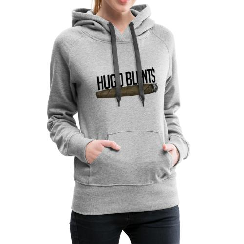HugoBlunts Logo - Women's Premium Hoodie
