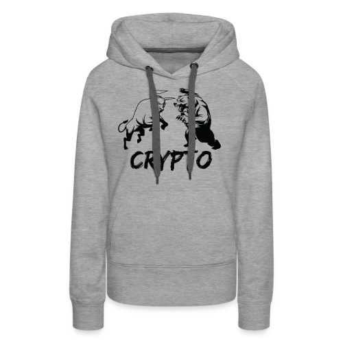 CryptoBattle Black - Women's Premium Hoodie