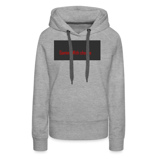 Gaming with charlie merch design - Women's Premium Hoodie