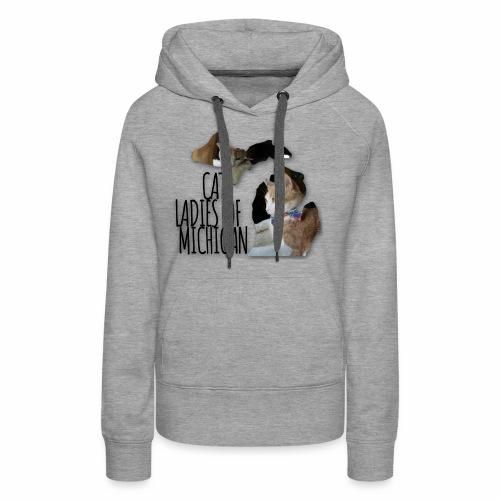 Cat Ladies of Michigan - Women's Premium Hoodie
