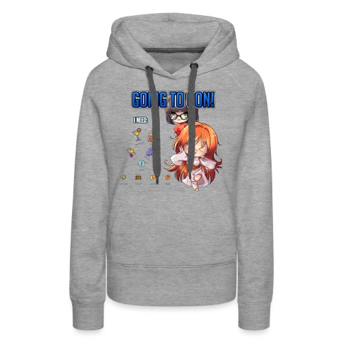 GOING TO CON - Women's Premium Hoodie