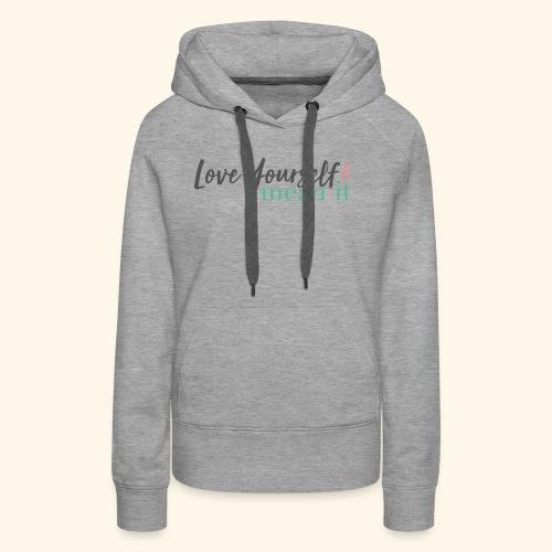 LYMI Logo Full Name - Women's Premium Hoodie