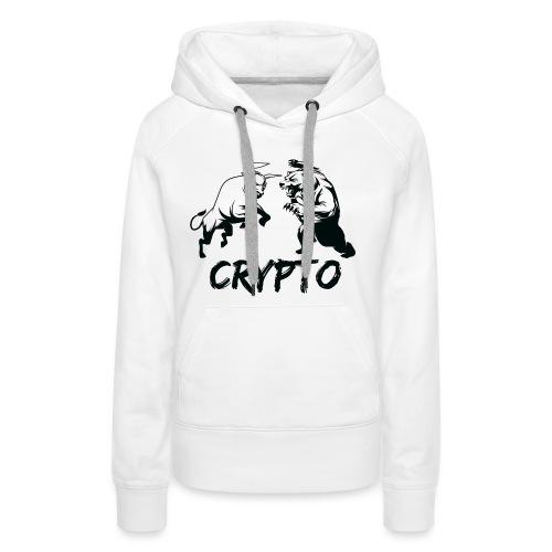 CryptoBattle Black - Women's Premium Hoodie