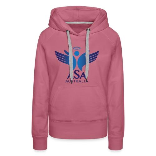 3459 Angelman Logo AUSTRALIA FA CMYK - Women's Premium Hoodie