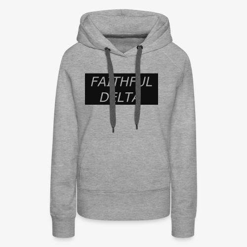 Faithful - Women's Premium Hoodie