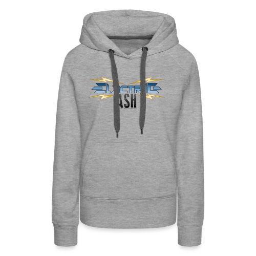 Electric Ash Logo - Main - Transparent Background - Women's Premium Hoodie