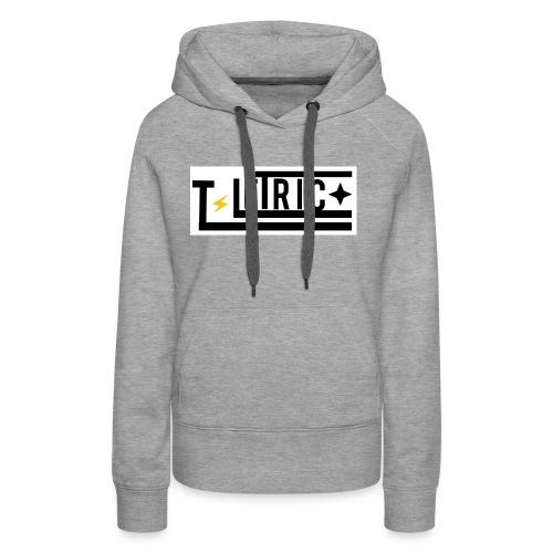 T-LETRIC Box logo merchandise - Women's Premium Hoodie