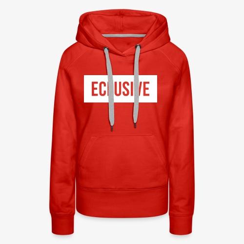 Exclusive Box Logo - Women's Premium Hoodie