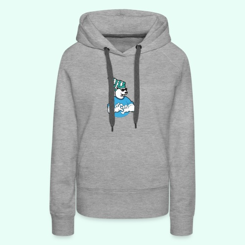Sarcasm XD Poaly the Polar bear - Women's Premium Hoodie