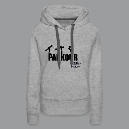 Parkour Text Kong Precision - Women's Premium Hoodie