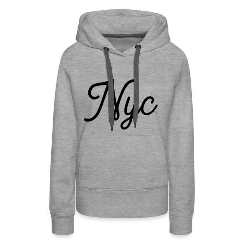 NYC Serif T-Shirt - Women's Premium Hoodie