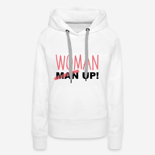 WoMan up - Women's Premium Hoodie