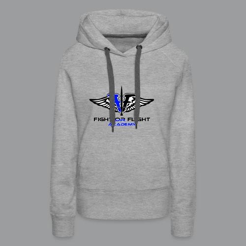 Fight or Flight Academy Logo - Women's Premium Hoodie