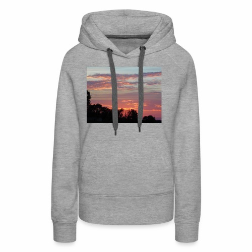 Sunset of Pastels - Women's Premium Hoodie