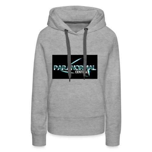 Paranormal Central On Black - Women's Premium Hoodie