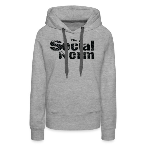 The Social Norm Official Merch - Women's Premium Hoodie