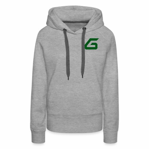 The New Era M/V Sweatshirt Logo - Green - Women's Premium Hoodie