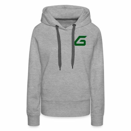 The New Era M/V Sweatshirt Logo - Green - Women's Premium Hoodie