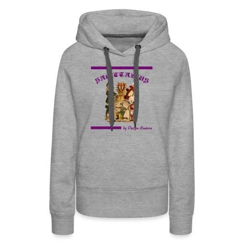 SAGITTARIUS PURPLE - Women's Premium Hoodie
