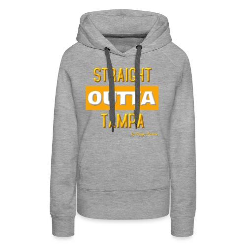 STRAIGHT OUTTA TAMPA ORANGE - Women's Premium Hoodie
