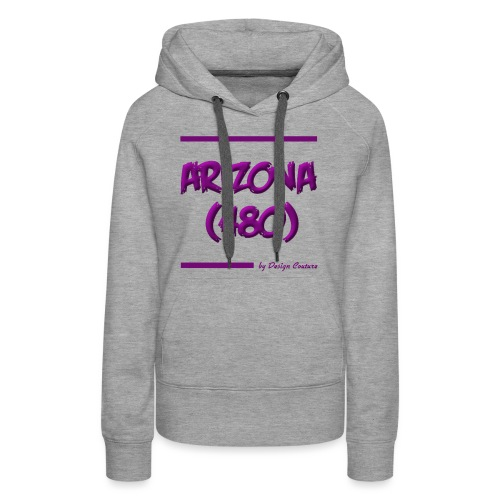 ARIZON 480 PURPLE - Women's Premium Hoodie