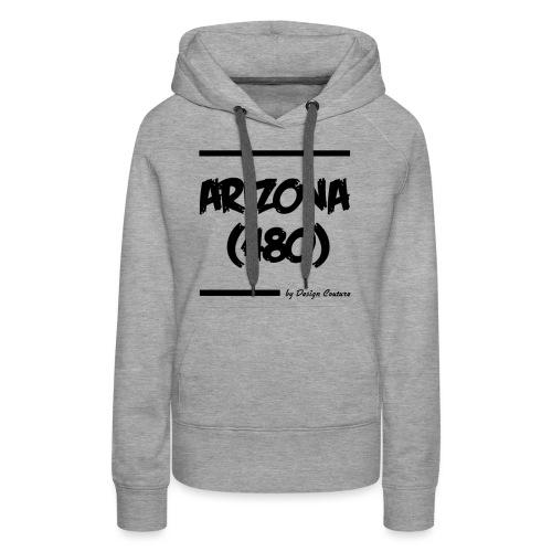 ARIZON 480 BLACK - Women's Premium Hoodie