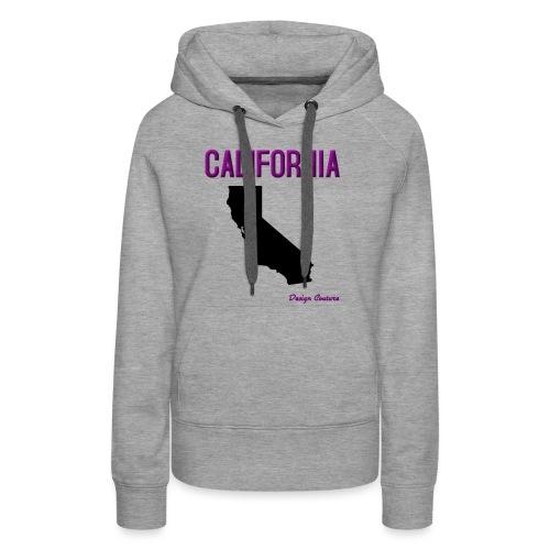 CALIFORNIA PURPLE - Women's Premium Hoodie