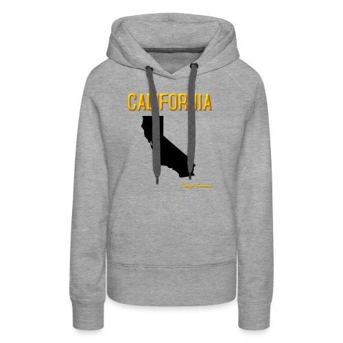 CALIFORNIA ORANGE - Women's Premium Hoodie