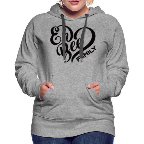 EhBeeBlackLRG - Women's Premium Hoodie