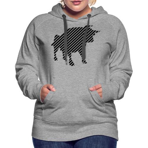 bulgebull_animal - Women's Premium Hoodie