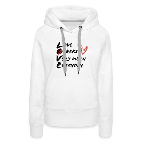 L.O.V.E Show Original Genuine Merchandise - Women's Premium Hoodie