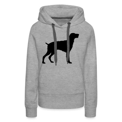 German Wirehaired Pointer - Women's Premium Hoodie