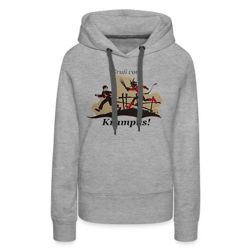 Gruss vom Krampus! - Women's Premium Hoodie