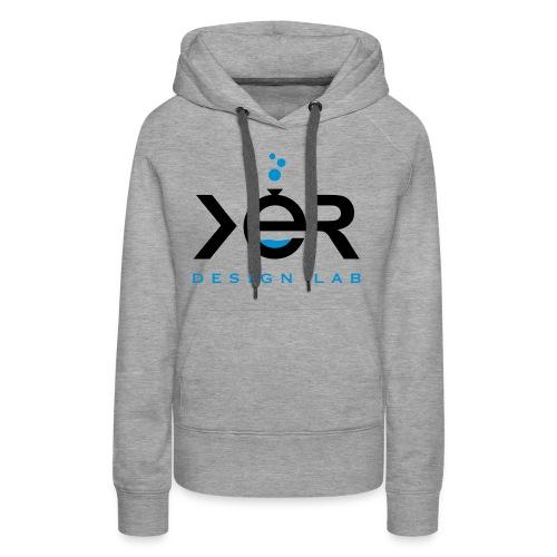 xer logo black - Women's Premium Hoodie