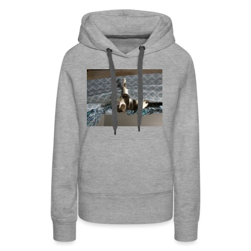Lol da upside down fat cat - Women's Premium Hoodie